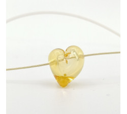 Heart version bubble necklace